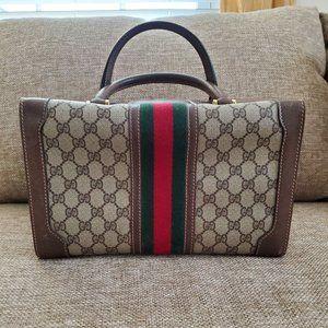 Authentic Vintage Gucci Train Case Vanity Bag